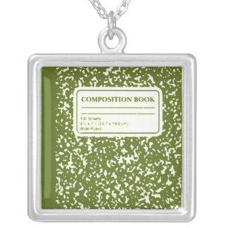 Composition Book Student-Teacher Necklaces