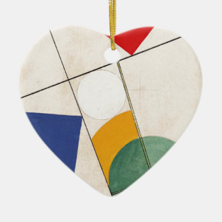 Composition by Sophie Taeuber-Arp Christmas Ornament