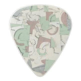 Composition, c.1920 acetal guitar pick