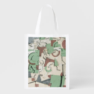 Composition, c.1920 reusable grocery bag