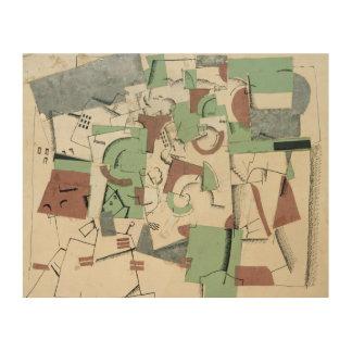 Composition, c.1920 wood prints