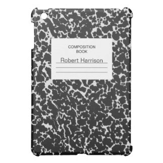 Composition Notebook Cover For The iPad Mini