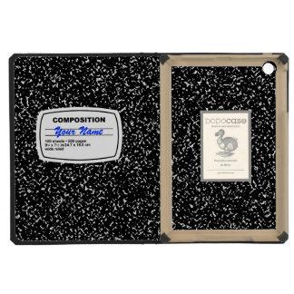 Composition Notebook Customizable iPad Mini Retina Case