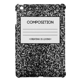 Composition Notebook Design iPad Mini Cover
