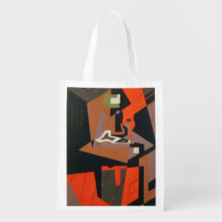 Composition (oil on canvas) market totes