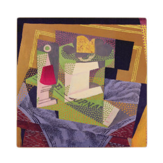 Composition on a Table, 1916 Wood Coaster