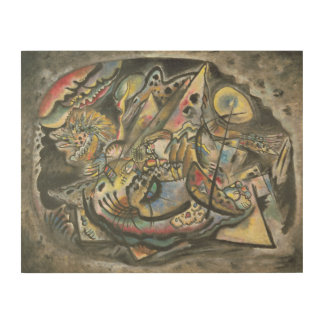 Composition: The Grey Oval, 1917 Wood Wall Decor