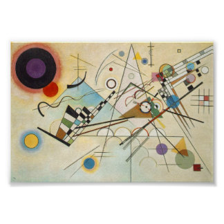 Composition VIII by Kandinsky. Poster