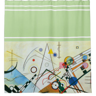 Composition VIII by Wassily Kandinsky Shower Curtain