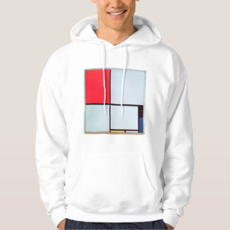 Composition with Red, Black, Blue & Yellow, 1928 Hoodie