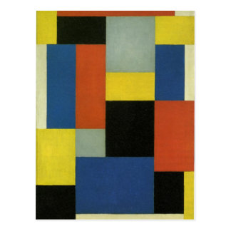 Composition XX by Theo van Doesburg Postcard
