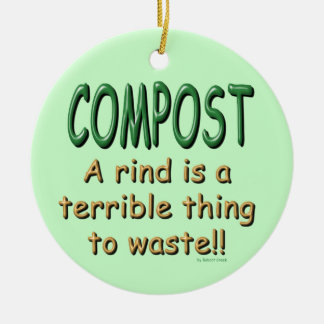 Compost Christmas Ornament