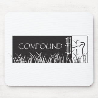 Compound Archery Banner - Male Mouse Pads
