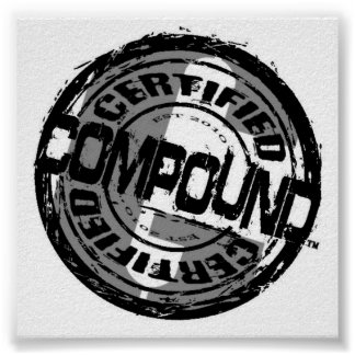 Compound Gang Seal Poster