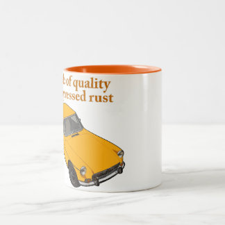 compressed rust Two-Tone coffee mug
