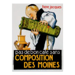 Comptoir Des Viandes Vintage Food Ad Art Posters