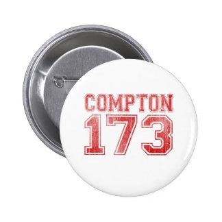 Compton 173 6 cm round badge
