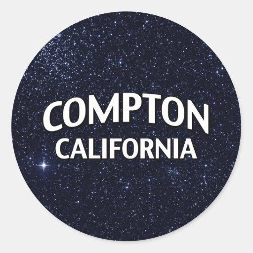 Compton California Sticker