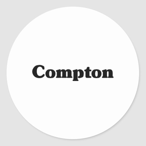 Compton Classic t shirts Stickers
