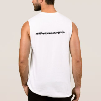 Compton to quantum sleeveless shirt