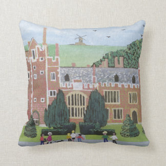 Compton Wynyates 1992 Throw Pillow