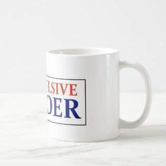 Compulsive Reader # 2 Basic White Mug