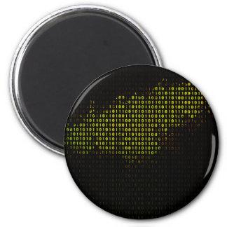 Compute Nebular 6 Cm Round Magnet