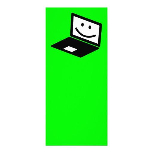 computer-157421  computer laptop notebook smile CU Custom Rack Cards