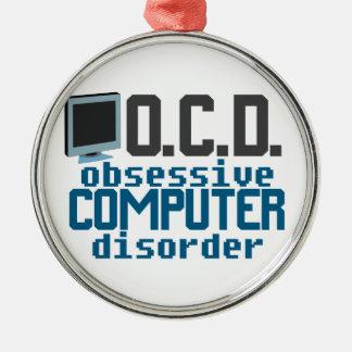 Computer Addict Christmas Ornament