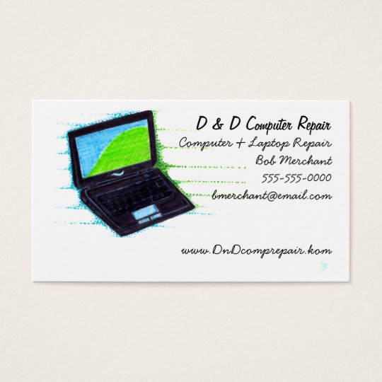 Computer and Tech Business Card