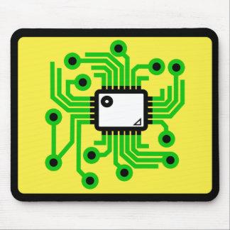 Computer Chip CPU Mouse Mat