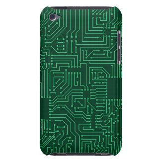 Computer circuit board barely there iPod cases