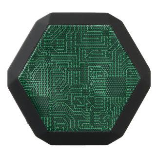 Computer circuit board black bluetooth speaker