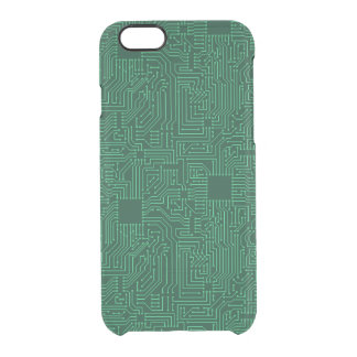 Computer circuit board clear iPhone 6/6S case