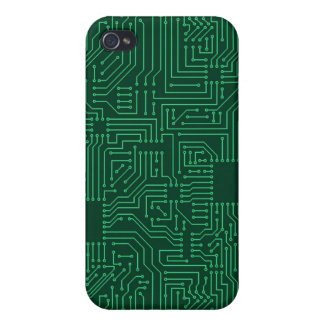 Computer circuit board iPhone 4 cover