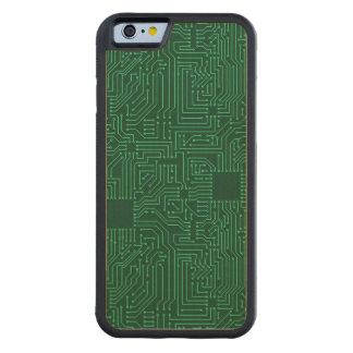 Computer circuit board maple iPhone 6 bumper