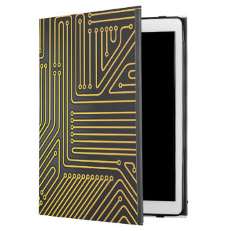 "Computer circuit board pattern iPad pro 12.9"" case"
