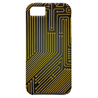 Computer circuit board pattern iPhone 5 cases