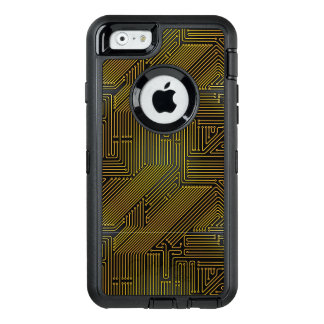 Computer circuit board pattern OtterBox iPhone 6/6s case
