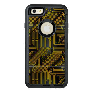 Computer circuit board pattern OtterBox iPhone 6/6s plus case