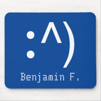 Computer Code Face Mousepad