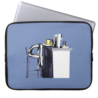 Computer cover Blows of bar 2 man Laptop Sleeve