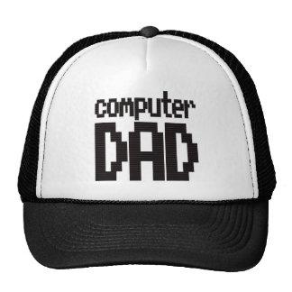 Computer Dad Trucker Cap