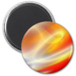 Computer Digital Abstract Painting Fridge Magnet
