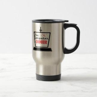 Computer Diner Travel Mug