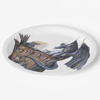 Computer Dragon 9 Inch Paper Plate
