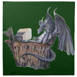 Computer Dragon Cloth Napkins