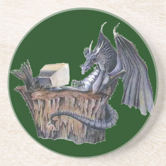 Computer Dragon Drink Coaster