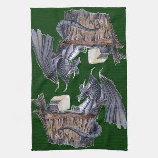 Computer Dragon Kitchen Towels