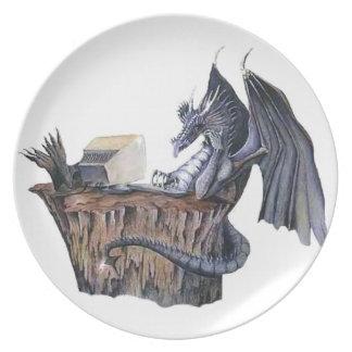 Computer Dragon Plate